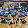 Canyon Lake High School volleyball began District 28-4A play versus the Boerne Greyhounds. [Sep. 26, 2017]