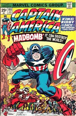 Captain America Covers