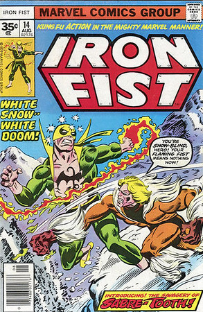 IRON FIST COVERS