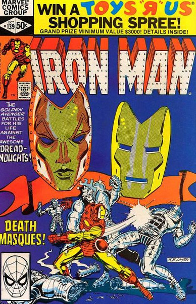 IRON MAN COVERS