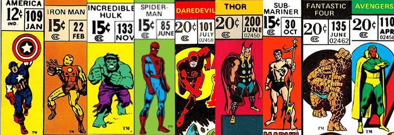 Marvel Corner Boxes