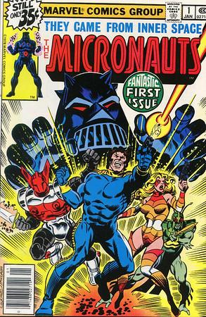Micronauts Comic Books