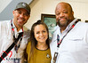 Gerald Webb,  Jessica and Mark Christopher Lawrence at Chuck Jones Gallery at SDCC 2016