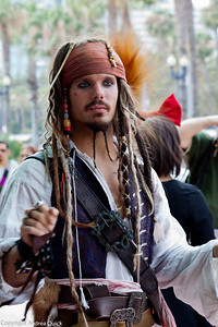 I feel like I've seen this Captain Jack Sparrow somewhere.... Disneyland?