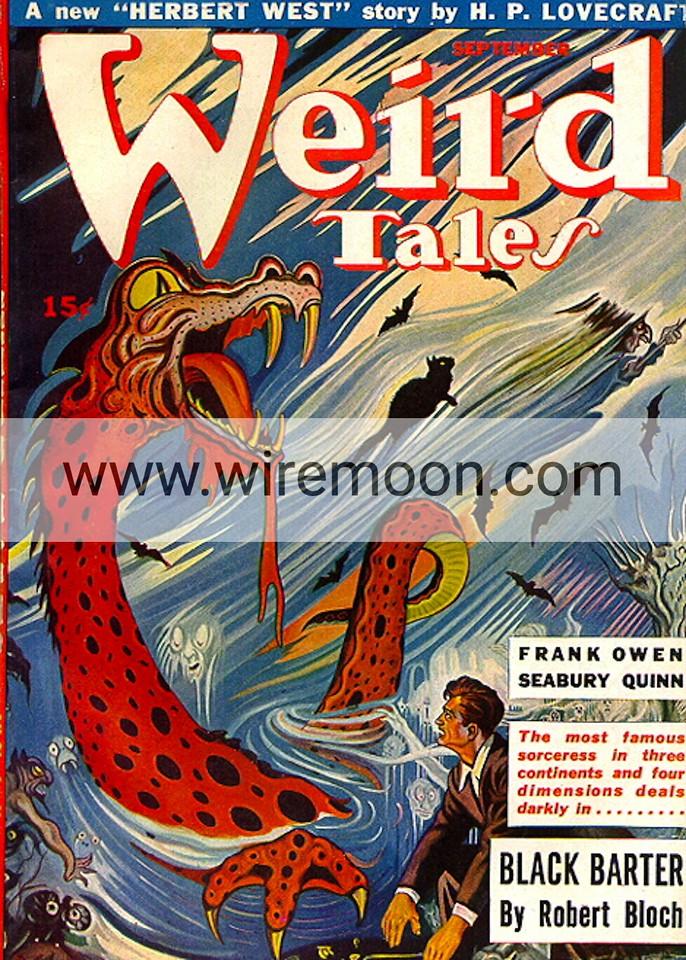 Weird Tales September 1943