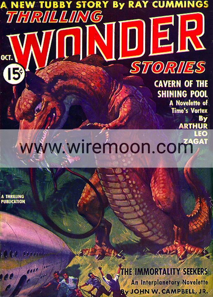 Wonder Stories October 1937