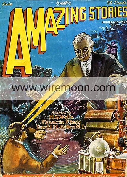 Amazing Stories Vol 3 # 3 June 1928.