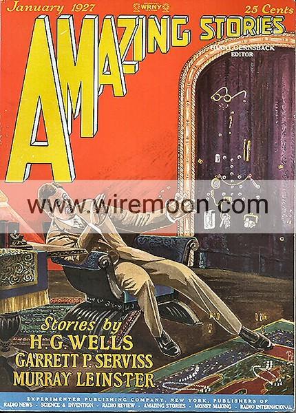 AMAZING VOL 1 # 10 JAN 1927