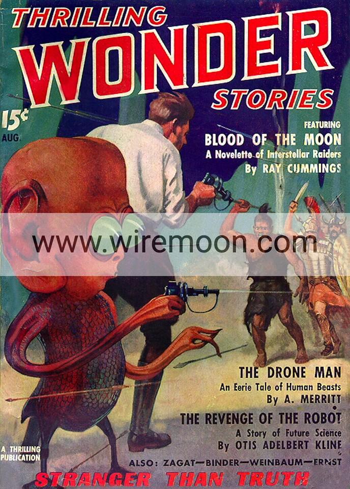 Wonder Stories Vol 8 # 1 August 1936