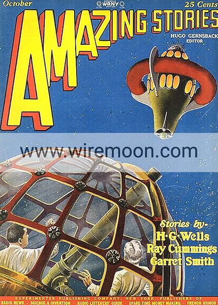 Amazing Stories Vol 2 # 7 October 1927.