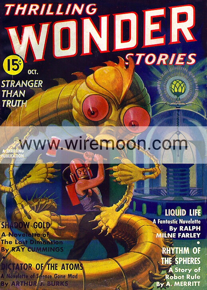 Wonder Stories Vol 8 # 2 October 1936
