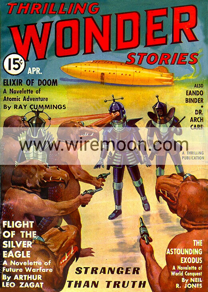 Wonder Stories April 1937