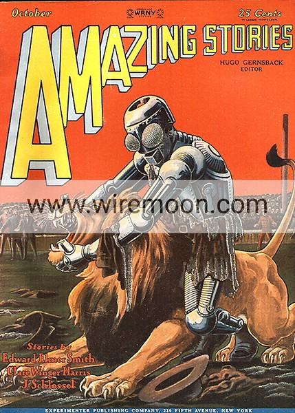 Amazing Stories Vol 3 # 7 October 1928.