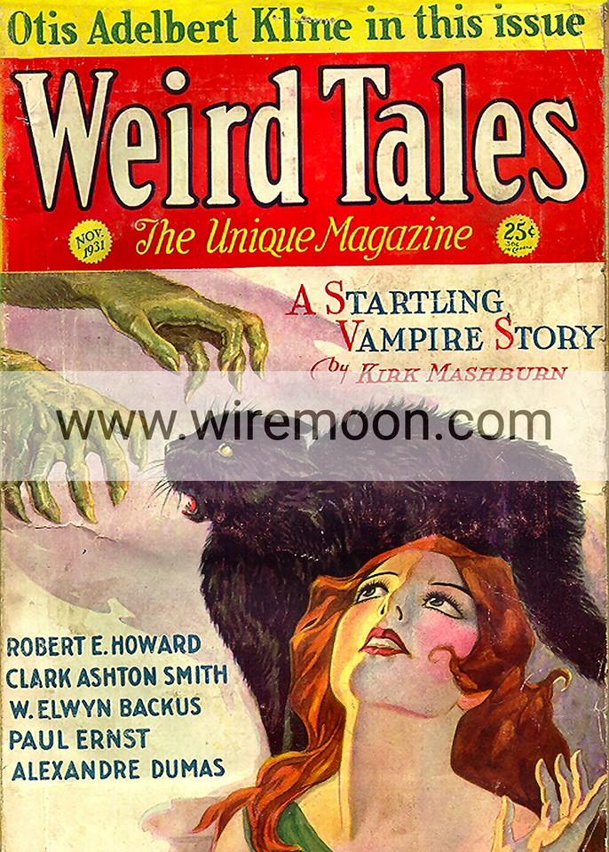 Weird Tales November 1931