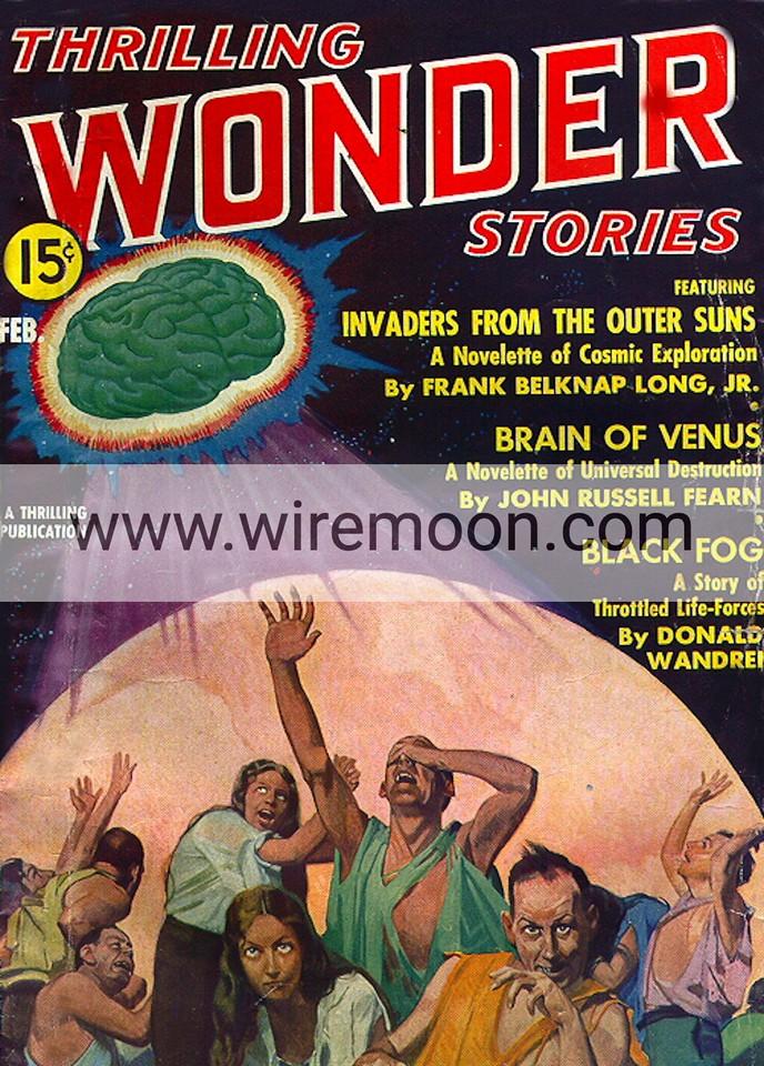 Wonder Stories February 1937