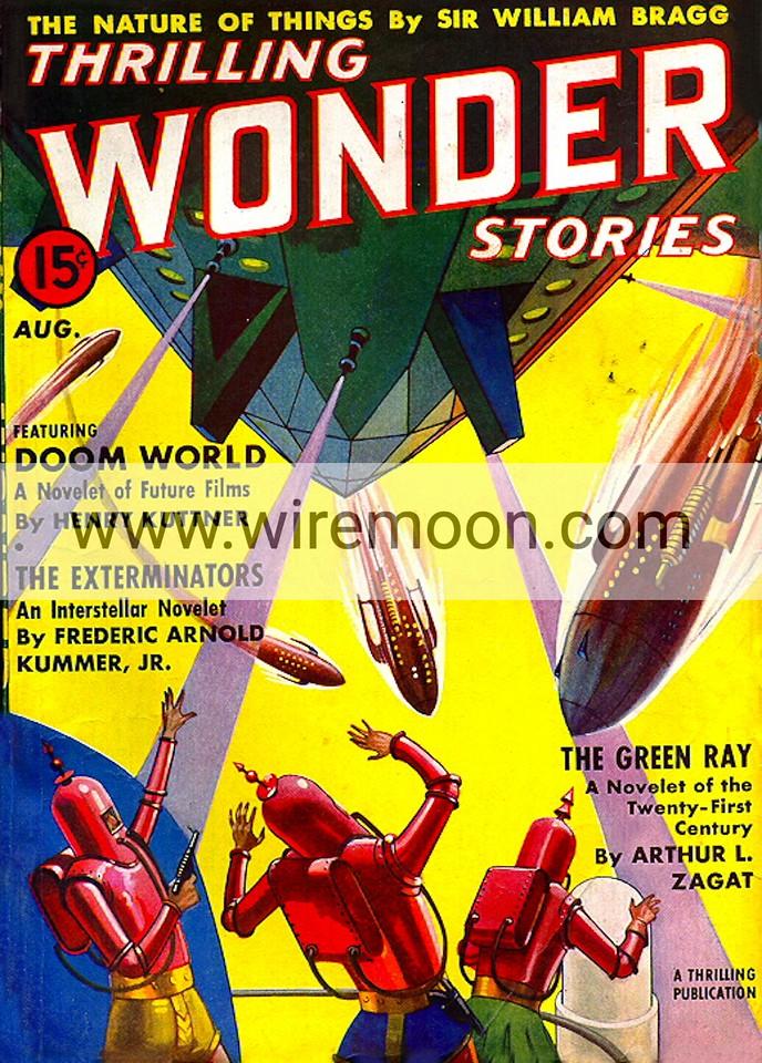 Wonder Stories August 1938