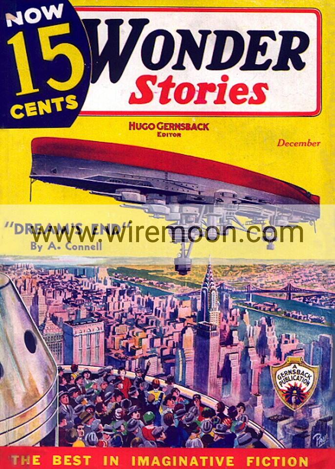 Wonder Stories December 1935