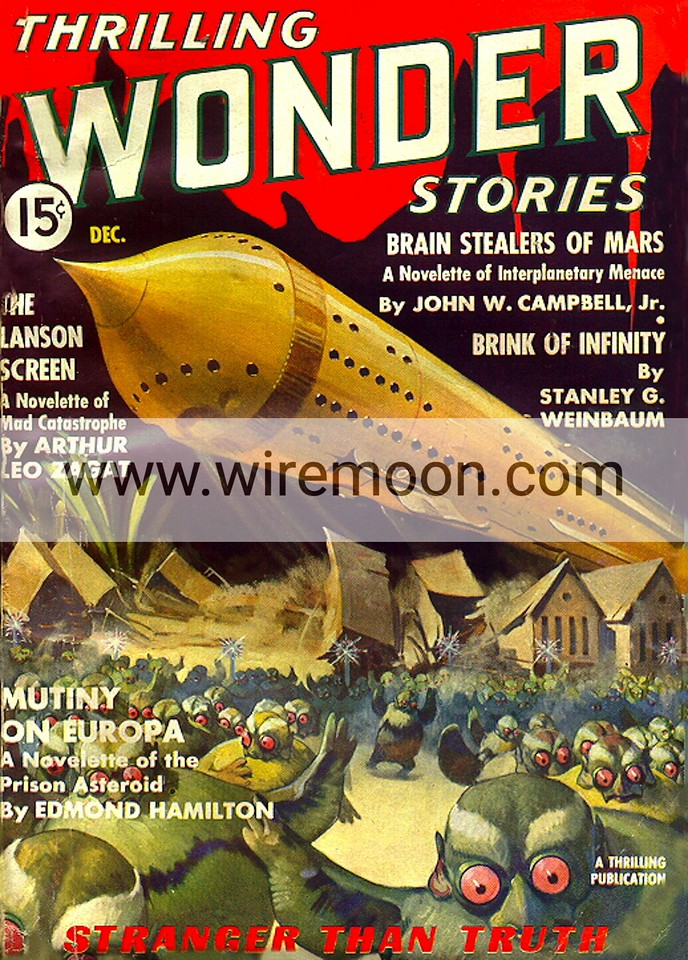 Wonder Stories Vol 8 # 3 December 1936