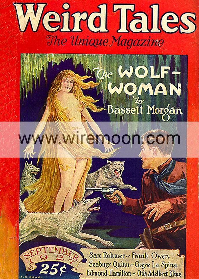 Weird Tales September 1927