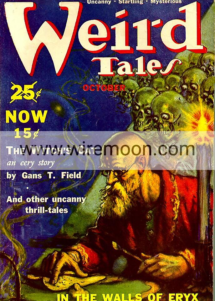 Weird Tales October 1939
