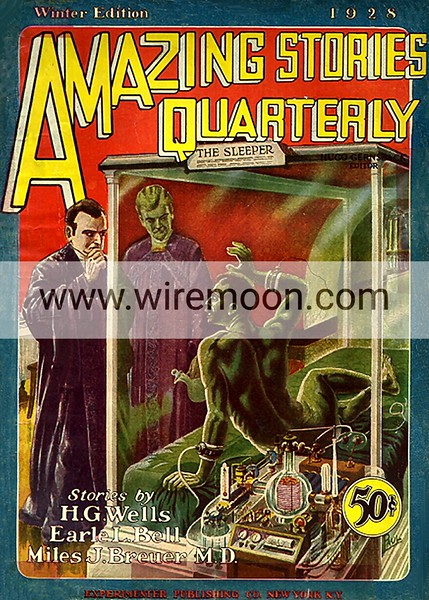 Amazing Stories Vol 1 # 1 Winter 1928.