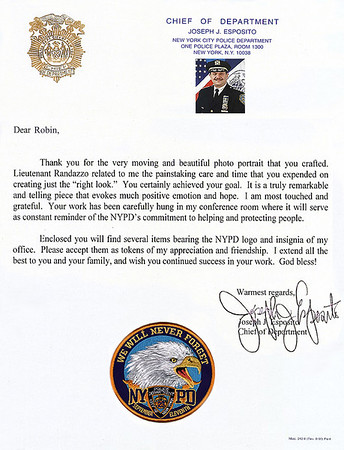 COMMENDATIONS AND LETTERS (CLICK ON BOTTOM OF IMAGE AND SCROLL DOWN