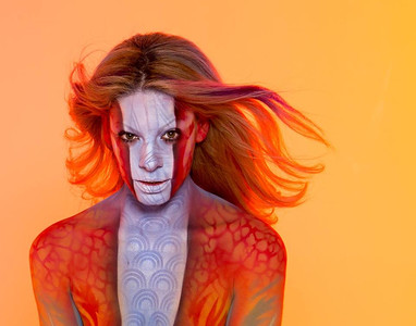 ROUSTAND BODYPAINT - Paul Roustan AUTHOR AND ARTIST
