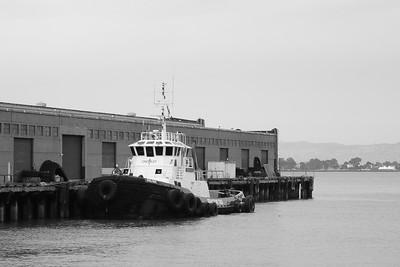 Docked Tug Boat, San Francisco CA