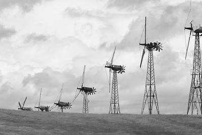 Wind Turbine Farm, CA