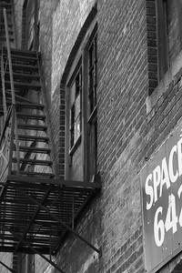 Abandoned Building Fire Escape