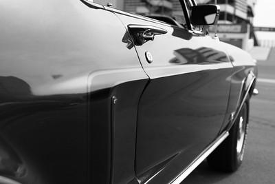 Vintage Mustang, Door Perspective