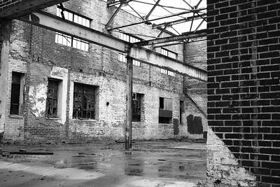Abandoned Warehouse Interior, Statesville NC