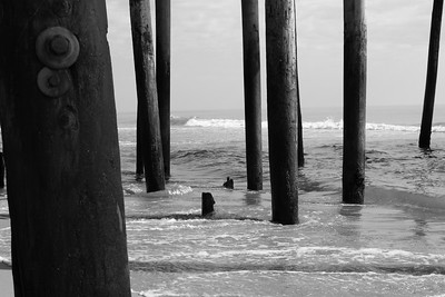 Under the Pier at Kitty Hawk, NC