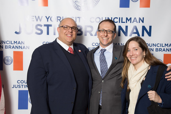 Inauguration of Councilman Justin Brannan