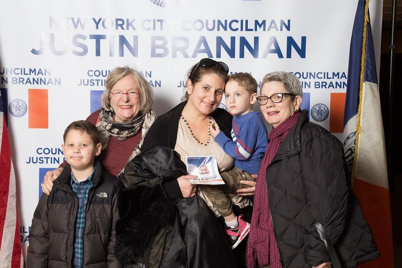 Inauguration of Councilman Justin Brannan