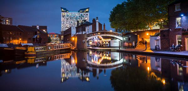 Canal side, Birmingham