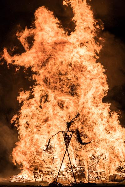 Wicksteed Park Bonfire Night