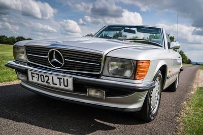 Mercedes-Benz R107 500 SL - The SL Shop -  Self Drive Hire