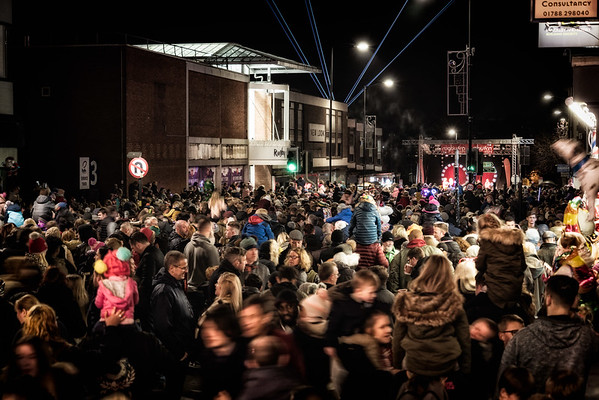 Rugby Christmas Lights Night