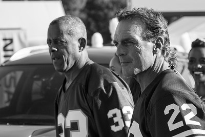 Tony Dorsett and Doug Flutie - Training Camp