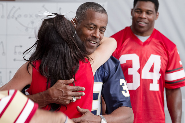 Tony Dorsett and Hershell Walker - Training Camp
