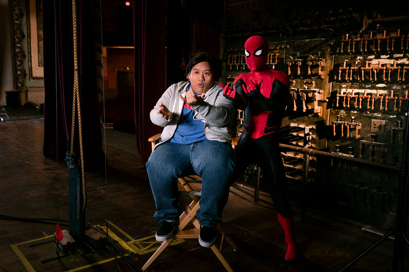 Spider-Man and Jacob Batalon - Taking Flight