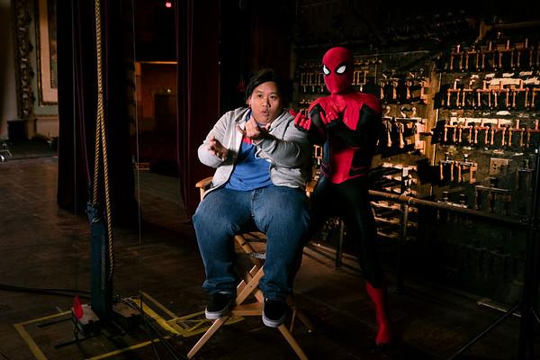 Spider-Man and Jacob Batalon - Taking Flight