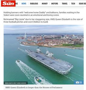 HMS QNEZ Sun