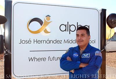 JOSE HERNANDEZ MIDDLE SCHOOL GRAND OPENING