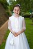 EEEjob 27/05/2017 First Communion at Christ of our Light Church, Ballincollig . Pictured,  Fiona Ní Chéilleachair from  Ballincollig after receiving her first communion at Christ of Our Light Church, Ballincollig on Saturday.  Picture: Andy Jay