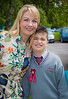 EEEjob 27/05/2017 First Communion at Christ of our Light Church, Ballincollig . Pictured,  Killian Harrington from Ballincollig with Marnie Harrington after receiving his first communion at Christ of Our Light Church, Ballincollig on Saturday.  Picture: Andy Jay