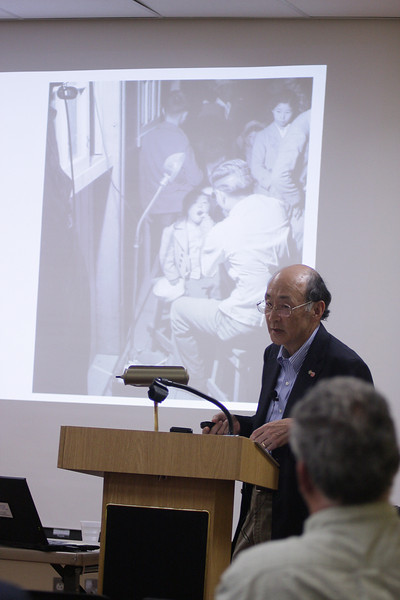 Japanese internment camp program at Abington Library