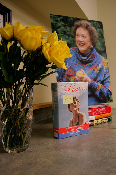 Union Library celebrated Julia Child