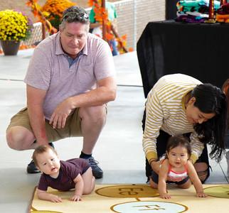 Cherokee Indian Fair Baby Crawling Contest, October 3